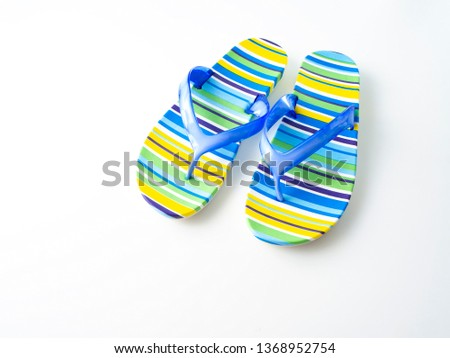 807c53430 Colorful striped beach towel on white Images and Stock Photos - Page ...