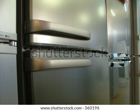 new fridges in line (handles)