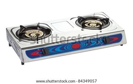 New gas stove the necessary kitchenware for your home