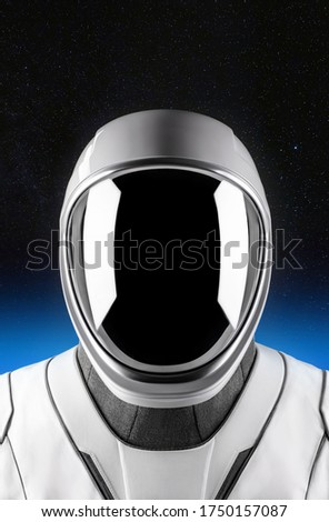 New High-Tech SpaceX Space suit. A billionaire, Hollywood designer and NASA collaborated on the next-gen spacesuits for the Dragon Demo-2 mission. Elements of this image furnished by NASA.