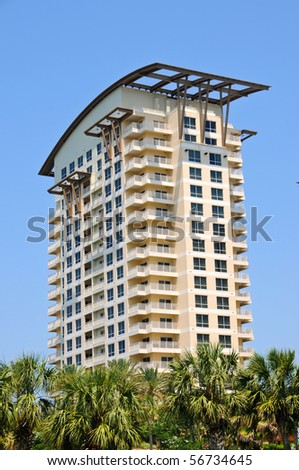New Highrise Condos on the Florida Coast