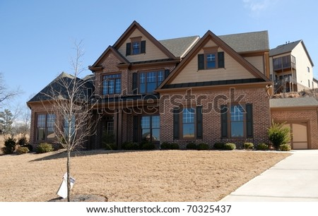 new home for sale at development in georgia usa