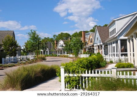 New Homes in a Beach Community