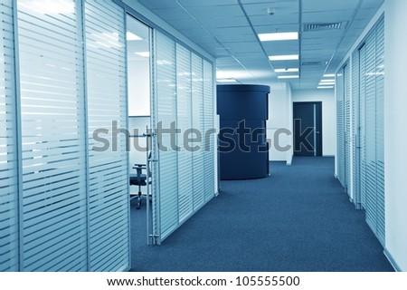 New ideas of modern office interior.