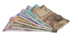 New Indian Currency 2000-500-200-100-50-10 with white background