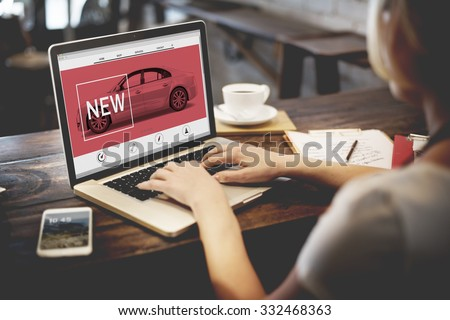 New Innovation Technology Car Homepage Concept