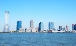 New Jersey City skyline