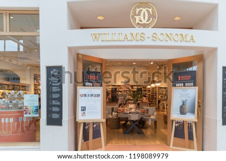 New Jersey Nj October 6 2018williams Sonoma Store Front Ez Canvas