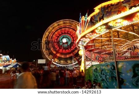 New Jersey State Fair at Meadowland Sports Complex- largest carnival in the state on June 26-July 4, 2008