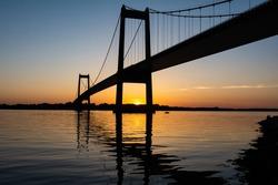 New Little Belt Bridge in Middelfart, Denmark