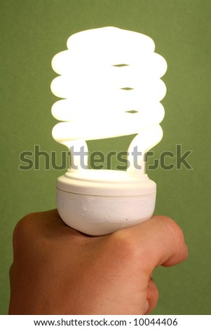 New Low Energy Light Bulb
