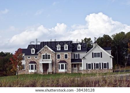 New Luxury Brick House
