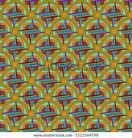 New magical abstract background multicolor seamless.
