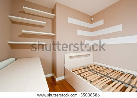 New modern bed room