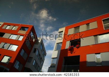 New modern flats