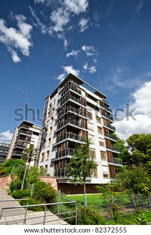 New modern luxury apartments