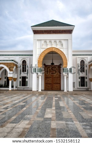 New mosque in the port of tangier, Morocco. Religion, Morocco. Religion #1532158112