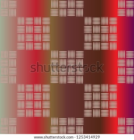 New multicolor abstract background with steel grid.
