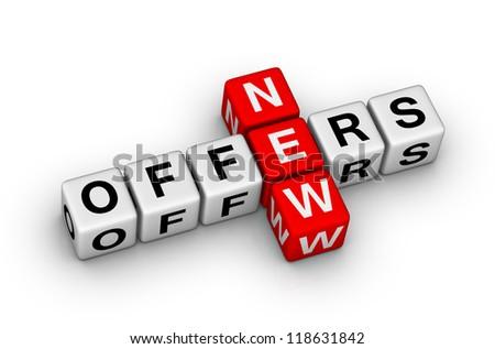 new offers crossword puzzle symbol