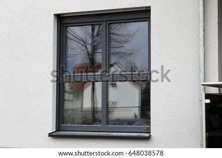 New plastic window, exterior shot