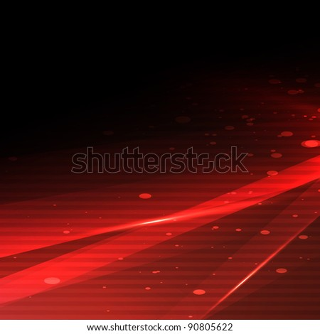 New red abstract background