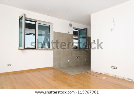 New refubrish and empty room in small apartment