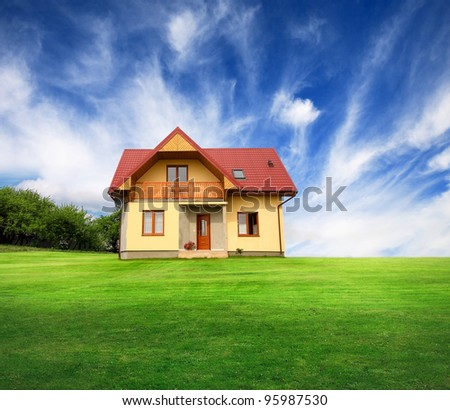 New rural house