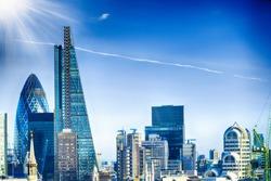 New skyline of London.