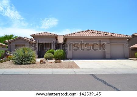 New Southwestern Spanish Style Arizona Dream Home