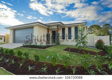 New suburban Australian townhouse