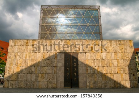 New synagogue in Munich, Germany