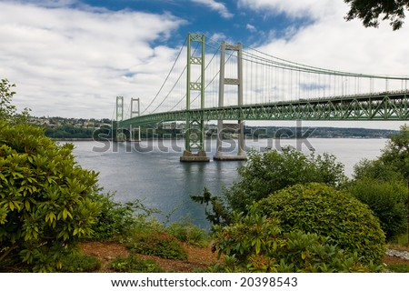 New Tacoma Narrows Suspension Bridges