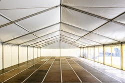 new tent at an event