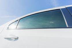 New tint film of the car window