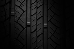 new tire texture - background