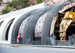 New Transportation Tunnel Construction