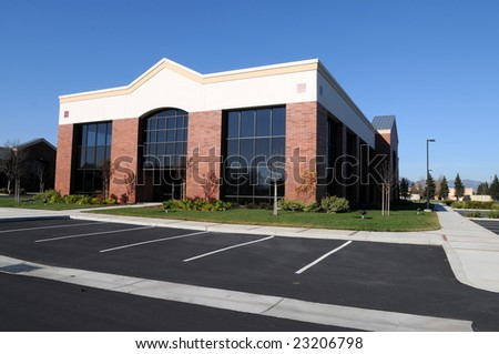 New, unoccupied office building, Fairfield, California