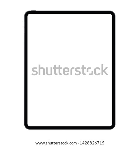 New version of tablet in trendy thin frames design.