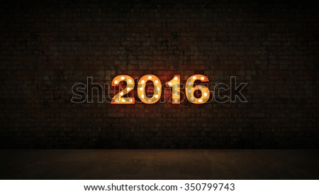 New Year 2016 #350799743
