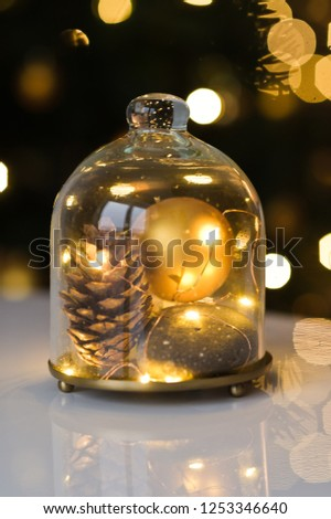 New year and Christmas decor #1253346640