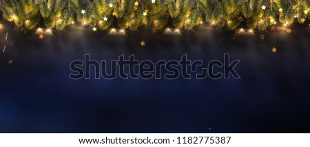 New Year and Christmas holidays background  #1182775387