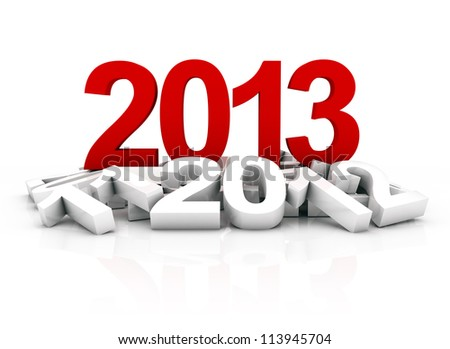new year 2013 and other years