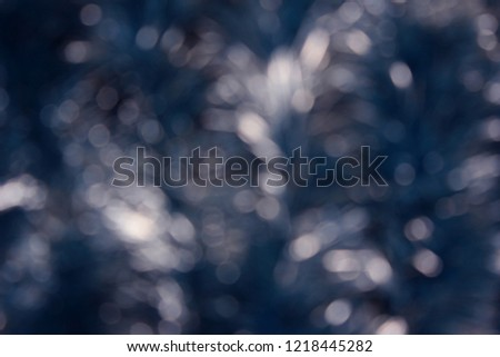 New Year Background with tinsel. Can be used as a background, a holiday card, a basis for the poster, a basis for the text.