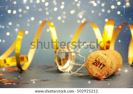 New Year Celebration, christmas tree background with bokeh. #502925212