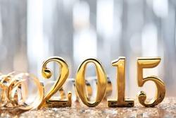 New year decoration,2015.