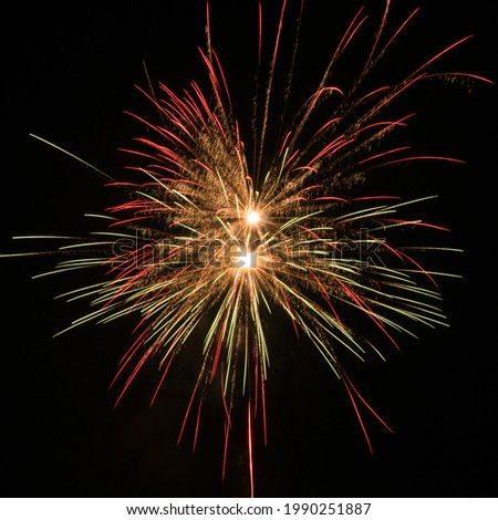 new year fireworks night party