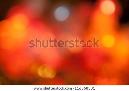 new year garland lights background