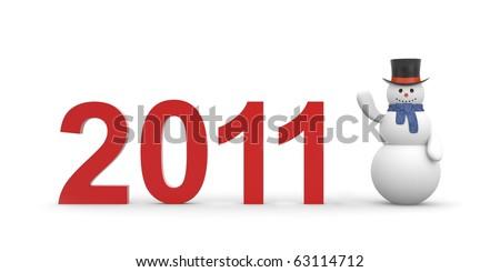 New year metaphor