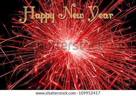 New Year's Eve background / New Year's Eve - stock photo