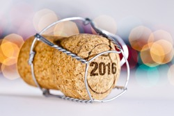 New Year's Eve/2016/Champagne cork new year's 2016